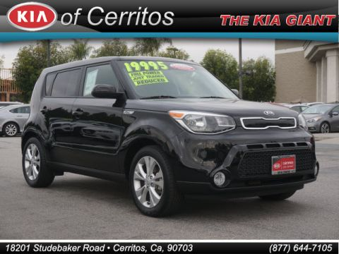 certified pre owned 2016 kia soul plus 4dr wagon in cerritos p11381 kia cerritos. Black Bedroom Furniture Sets. Home Design Ideas